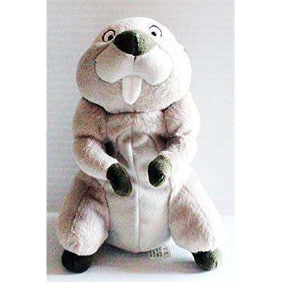 Walt Disney Winnie the Pooh Gopher 7 inch Beanbag Plush Doll: Office Products