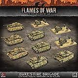 Flames of War: Mid War: German: Bake's Fire Brigade Army Box (GEAB17)