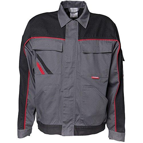 Planam 2312114 Highline Blouson de travail Taille 114 en Ardoise/Noir/Rouge