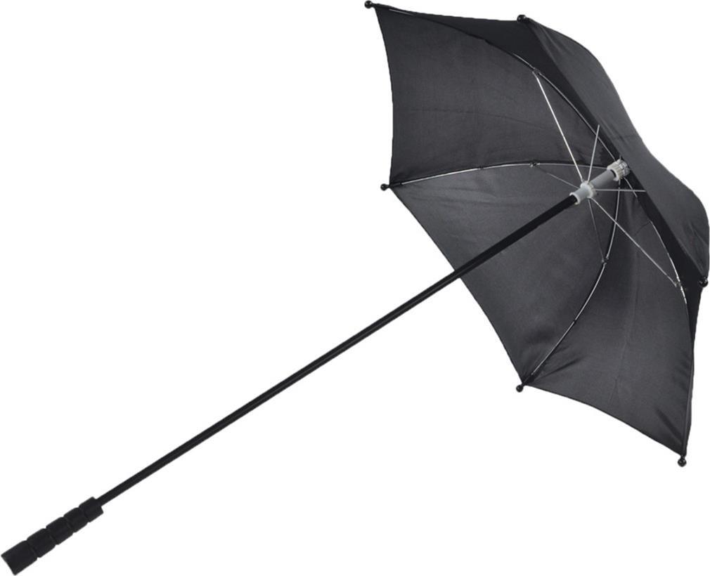 Morris Costumes - Nylon Black Parasol - Standard