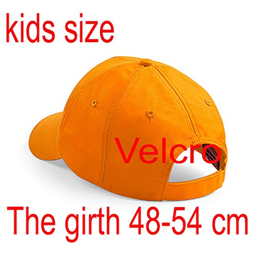 Hat Orange Alphabet Escuela 4sold O Gorra A Bordado Niños Niños Z zZwwYXq