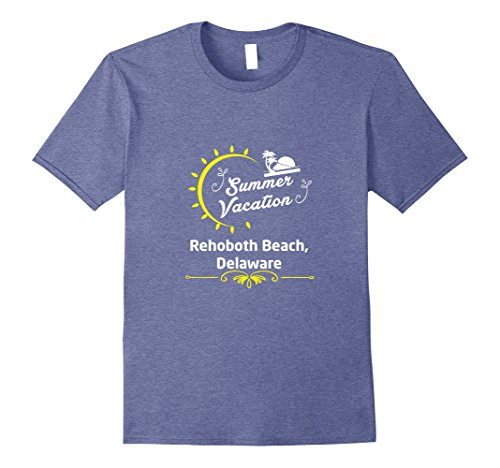 Mens Summer Vacation In Rehoboth Beach Delaware T-Shirt 2XL Heather - In Rehoboth Beach Shops