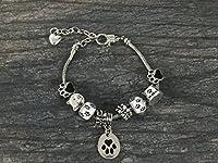 Cat Bracelet, Cat Jewelry, Paw Print Jewelry- Cat Lovers Bracelet-Cat Owner Bracelet -Perfect Gift for Cat Lovers