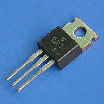Electronics-Salon 2SC2073 TOSHIBA C2073 Transistor amplificador de audio, 10 unidades: Amazon.es: Industria, empresas y ciencia
