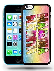 Hipster Infinity of Love Colorful Hakuna Matata Phone Case Cover Designs for iPhone 5C