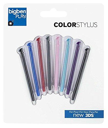 Bigben Stylus Set Rainbow (8 Stück) für new 3DS