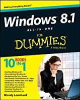 Windows 8.1 All-in-One For Dummies Front Cover