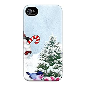 Hot Style XiS19204kUuX Protective Cases Covers For Iphone6(snowman Playing)
