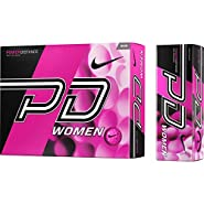 1 Dozen 2015 Nike Power Distance PD9 Women's Pink Golf Balls