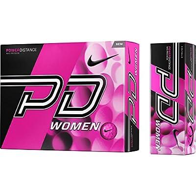 1 Dozen 2015 Nike Power Distance PD9 Women's Pink Golf Balls
