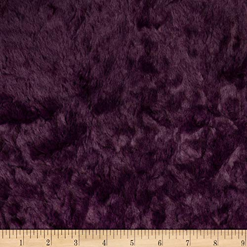 Shannon Minky Luxe Cuddle Marble Berry Fabric by the Yard