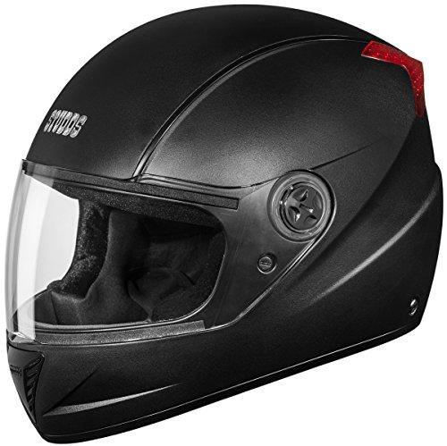 Studds Professional Full Face Helmet (Black, XL)