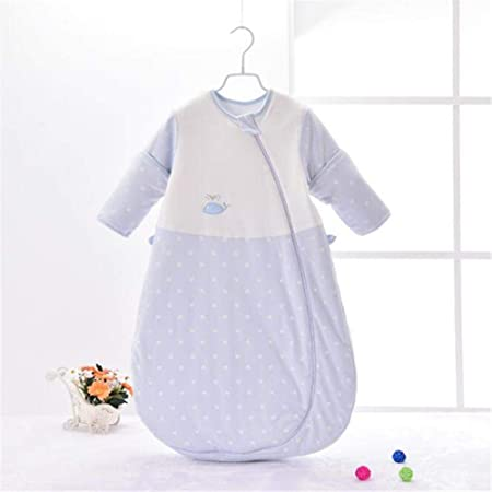 Syeed Suministros para bebés Saco de Dormir para bebé y edredón de algodón Grueso para Invierno