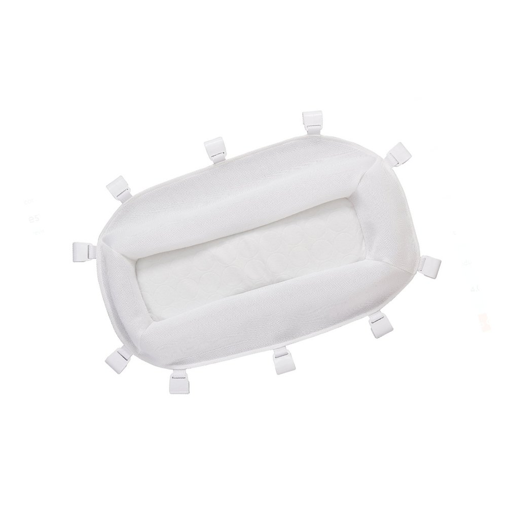 Newborn Sleeper Bassinet Insert for Baby Bedding Cuddle Portable Washable Secure Basket & eBook by OISTRIA