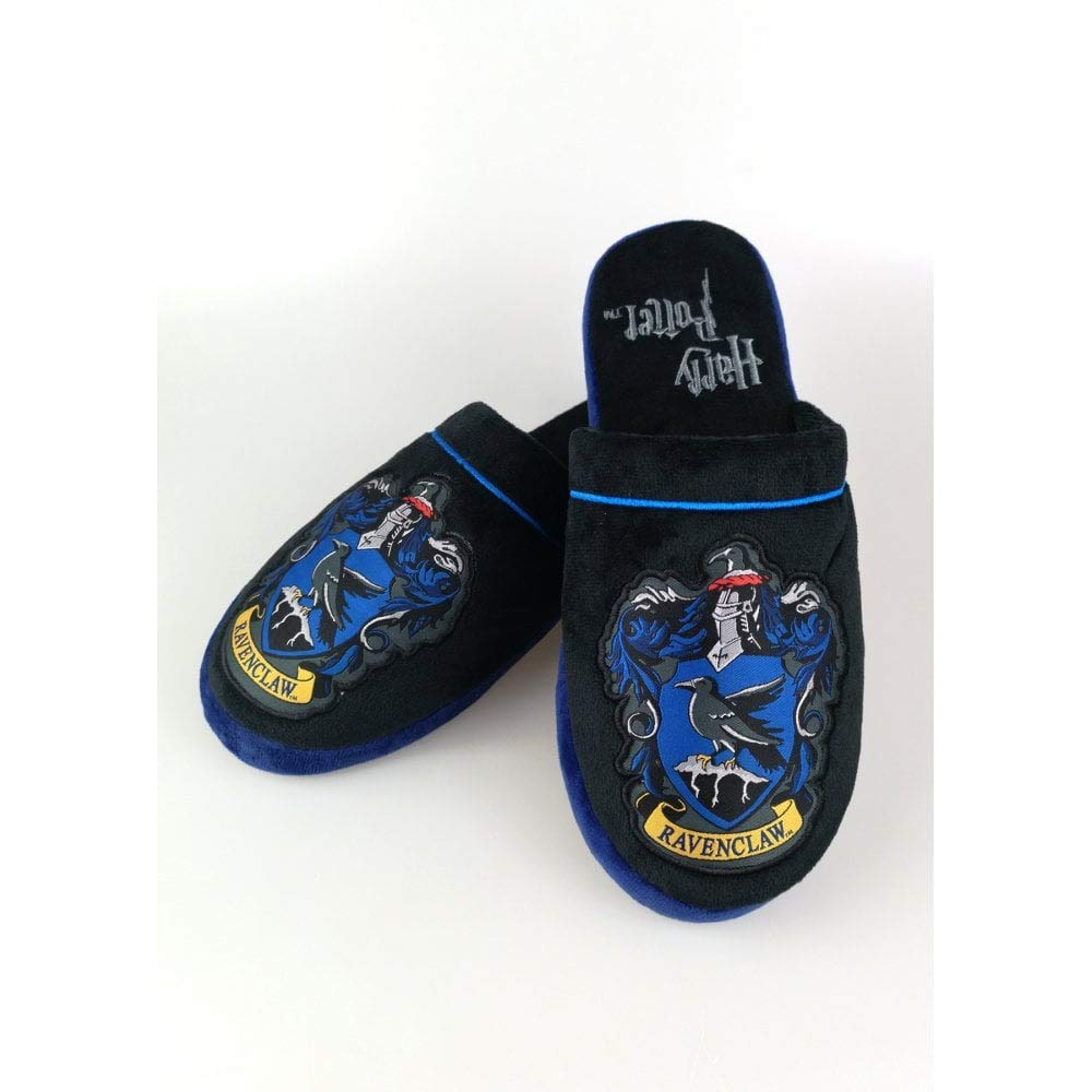 df1fa0de081 Official Harry Potter Hogwarts Ravenclaw Adult Mule Slippers - UK 8-10   Amazon.co.uk  Shoes   Bags
