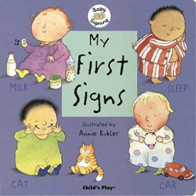 Harris Communications B1262. Baby Signing - My First Signs Board Book: Toys & Games