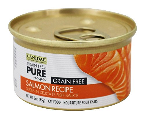 Canidae Grain Free Pure Salmon Can Cat Food 12pk by Pet Supply