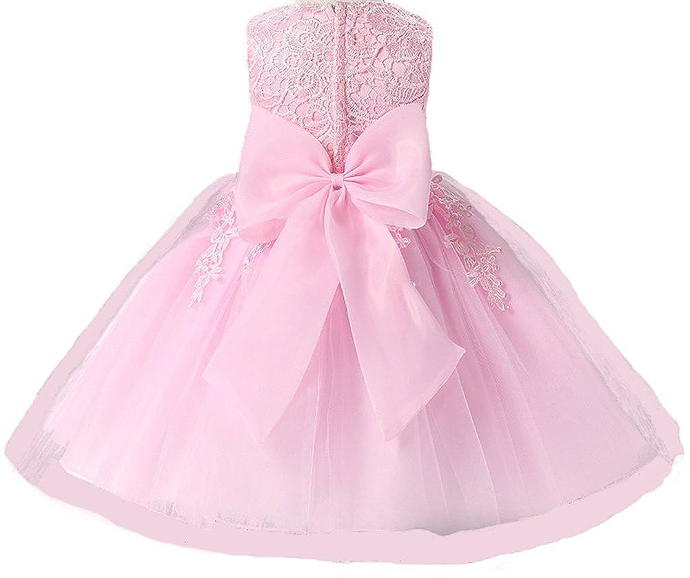 928c90bd2922 Myosotis510 Embroidered Lace Flower Girls Dress Princess Evening ...