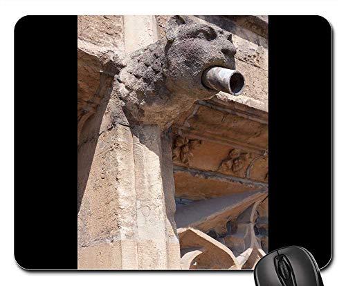 Mouse Pad - Gargoyle Lion Animal Head Foot Gothic -