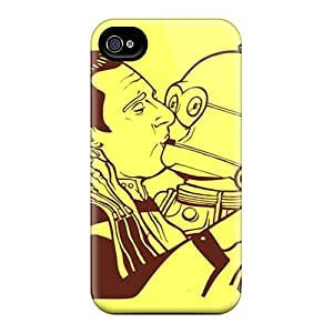 Awesome Design Data C3po Hard Case Cover For Iphone 4/4s