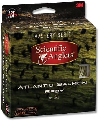 SCIENTIFIC ANGLERS ATLANTIC SALMON SPEY WF-10//11-F ORANGE//WILLOW  FISHING LINE