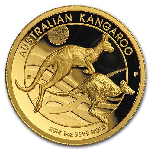 2018 AU Australia 1 oz Gold Kangaroo Proof (High Relief, Box & COA) 1 OZ Brilliant Uncirculated ()