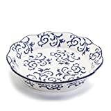 BIA Cordon Bleu White Stoneware Fluted 10 inch