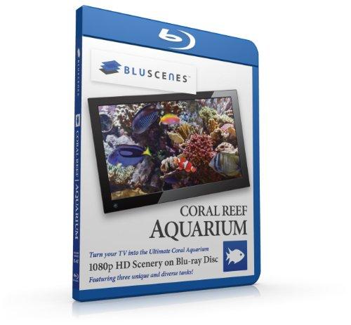 - BluScenes: Coral Reef Aquarium 1080p HD Blu-ray Disc [Blu-ray]