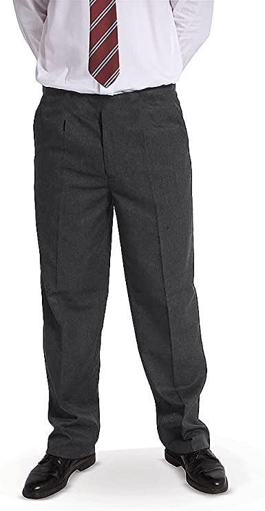 Generous Fit DON Last Man Stands Boys Sturdy Fit School Uniform Trousers Ages 2-11 Years **New