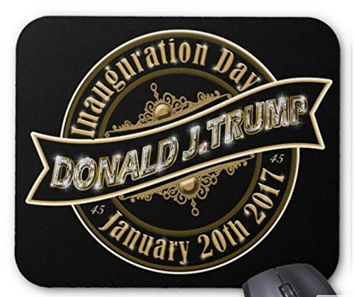 Mouse Mat President Trump Inauguration Day 2017 Non-Slip Natural Rubber Mousepad