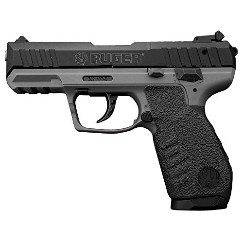 Traction Grip Overlays in Black for Ruger SR22 pistols