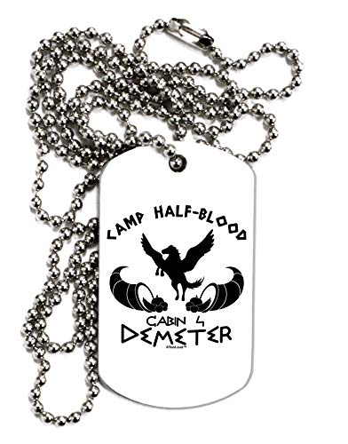 ter Camp Half Blood Adult Dog Tag Chain Necklace ()