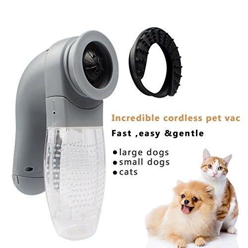 Pet Hair Remover Vacuum Cat Large Dogs Fur Vac Hair Collection Groomer Useful Goods
