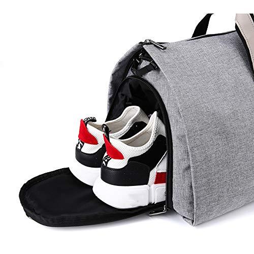 La Del Ropa ayng Correa De Traje Traje black Y Viaje Bandolera Zapatos Cubierta Bolsa Wy Bolso Black Desmontable Hombro XqtP6xndww