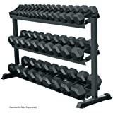 York 3 - Tier Pro Hex Dumbbell Rack