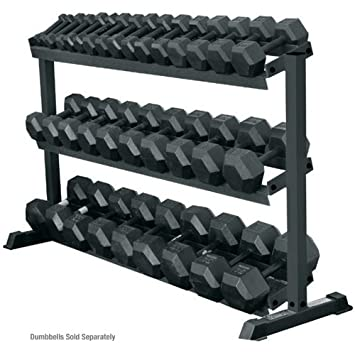 York 3 – Tier Pro Hex Dumbbell Rack