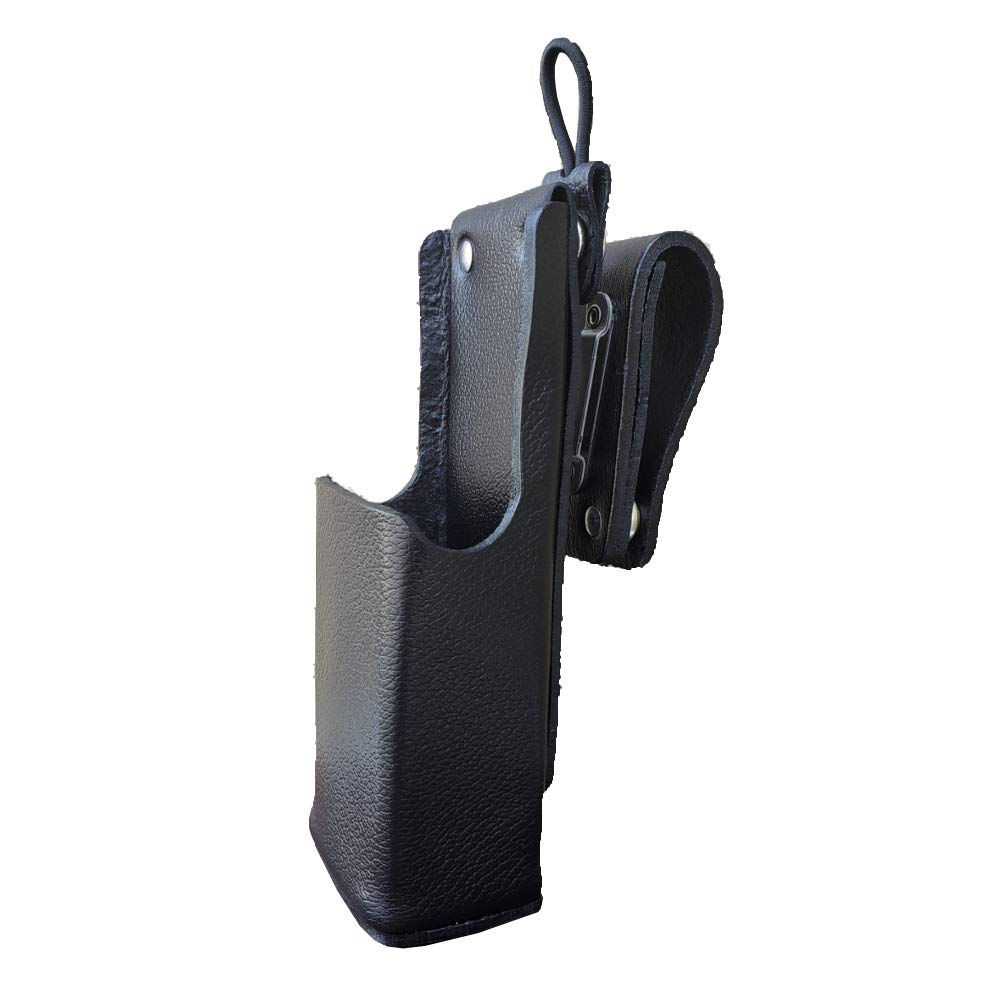 Case Guys MR8570-3AW Hard Leather Swivel Belt Loop Holster Case with Antenna Loop for Motorola APX 6000XE Two Way Radios