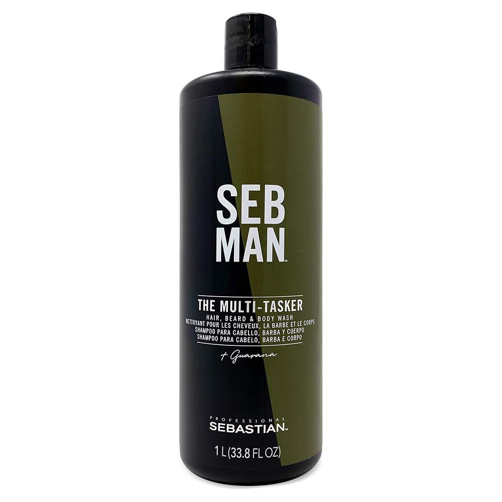 Sebastian SEB MAN Hair, Beard & Body Wash, 8.45 Fl Oz