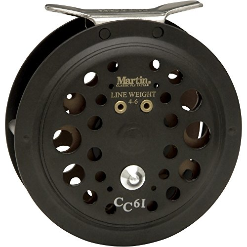 Martin Fly Fishing Caddis Creek Single Action Fly Fishing Reel (Size 6/1)