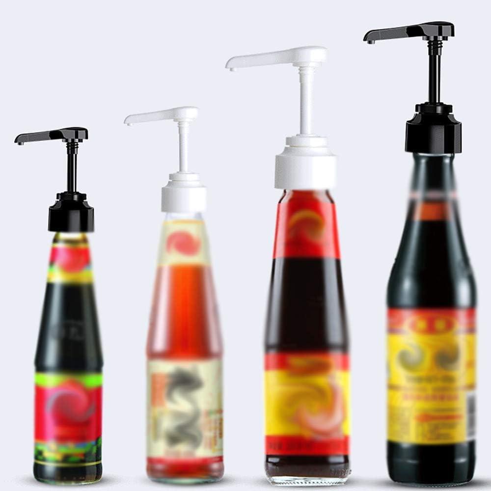 Oyster Sauce Bottle Pump Nozzle Push-type Pump Head Pump Lid Kitchen Accessories