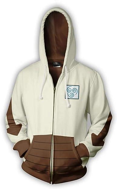 Avatar The Last Airbender Hoodie Cosplay Costume Unisex 3D Print Anime Appa Pullover Sweatshirts