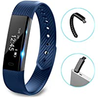 Fitness tracker watch, Hembeer V1 Smart Band with Step Tracker, Pedometer Bluetooth Bracelet Activity Tracker/...