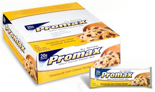 Promax Energy Bar, Chocolate Chip Cookie Dough 2.64 oz