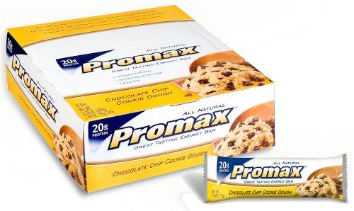 Promax Energy Bar, Chocolate Chip Cookie Dough 2.64 oz
