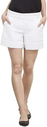 Kenneth Cole Womens Linen Short Dress Shorts