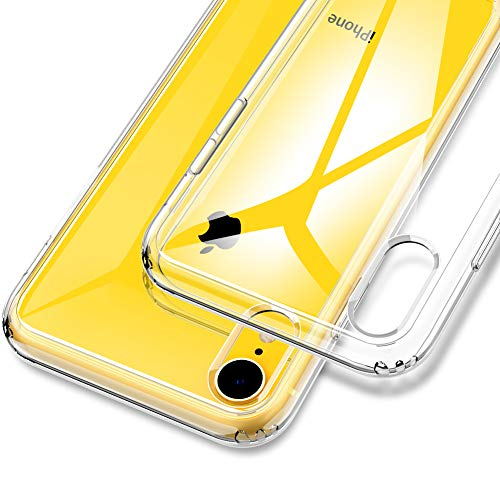 VUP Clear Case Compatible with Apple iPhone XR 6.1 inch (2018) with Air Cushion Technology Crystal Clear Phone Cover