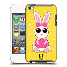 Head Case Designs Fashionista Sofie The Bunny Hard Back Case for Apple iPod Touch 4G 4th Gen