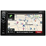 "BOSS BV9386NV Double Din 6.2"" Touchscreen DVD Player Receiver GPS Navigation, Bluetooth, Wireless Remote, Black"