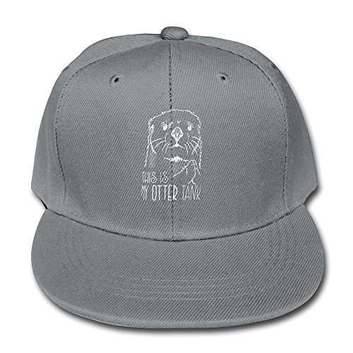 Sanbeis This is My Otter Tank Kid Baseball Hats Ash (Trampoline Playstation)