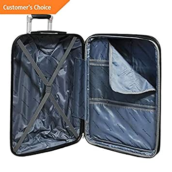 Amazon.com | Sandover World Traveler Regis 3-Piece Hardside Expandable gage Set NEW | Model LGGG - 4111 | | Luggage Sets